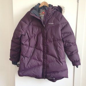 Columbia - Purple Lay D Down Women's Winter Jacket